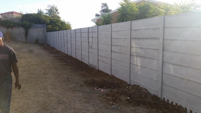 Secure Perimeter Concrete Walls