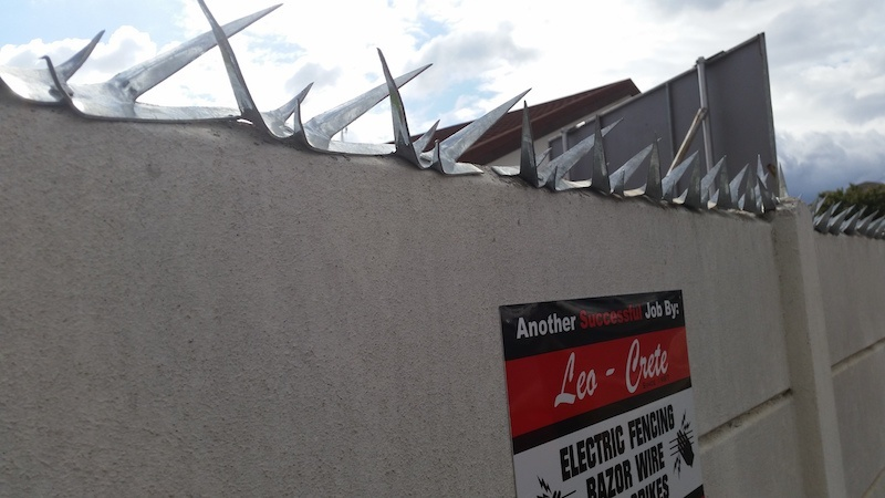 Perimeter Wall Spikes